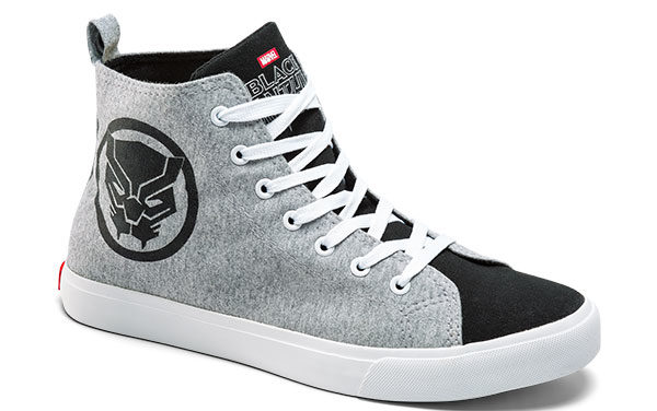 Black Panther High Top Sneaker
