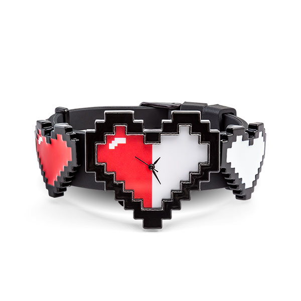 8-Bit Hearts Watch