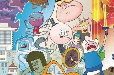 Adventure Time Regular Show #6