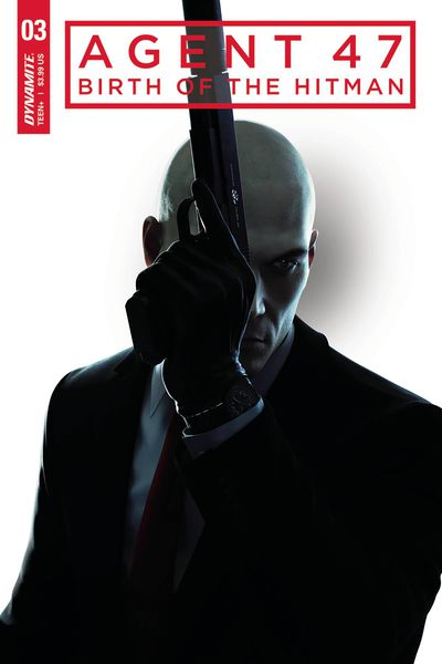 Agent 47 Birth of Hitman #3 (Cover B – Gameplay)