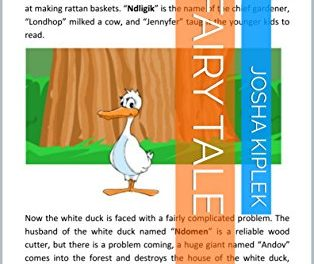 Fairy Tale: There Strong Muscular White Duck