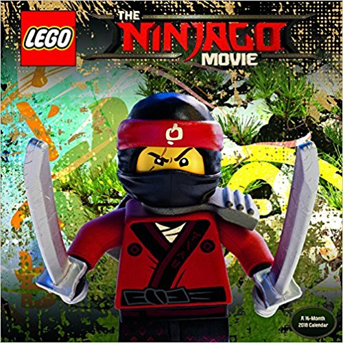 The Lego Ninjago Movie 2018 Mini Calendar