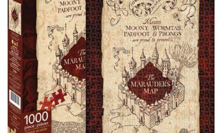 Harry Potter Marauder's Map 1,000-Piece Puzzle