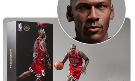 NBA Collection Michael Jordan Motion Masterpiece 1:9 Scale Action Figure – Free Shipping