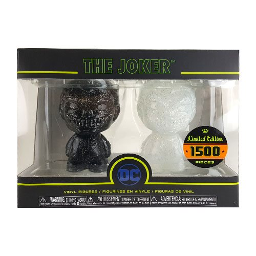 Batman Joker Black and White Hikari XS Vinyl Figure 2-Pack