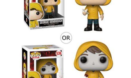 It Georgie with Boat Pop! Vinyl Figure