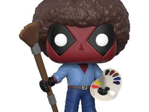 Deadpool Playtime Bob Ross Pop! Vinyl Figure