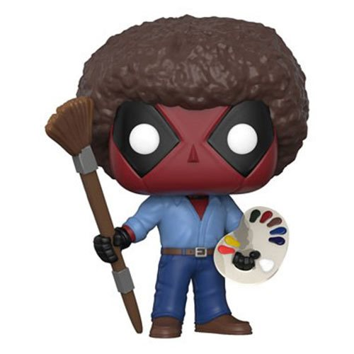 Deadpool Playtime Bob Ross Pop! Vinyl Figure