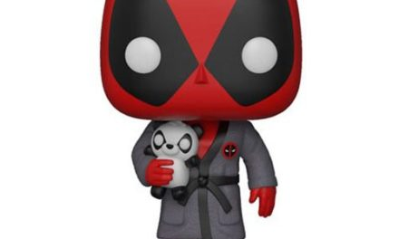 Deadpool Playtime Deadpool in Robe Pop! Vinyl Figure