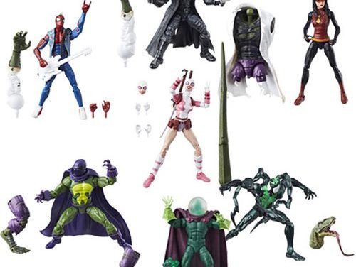 Amazing Spider-Man Marvel Legends Figures Wave 9 Case – Free Shipping