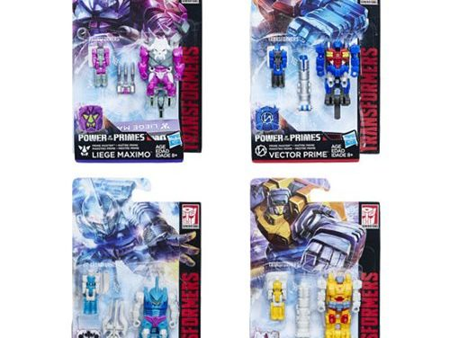 Transformers Generations Prime Masters Wave 2 Set