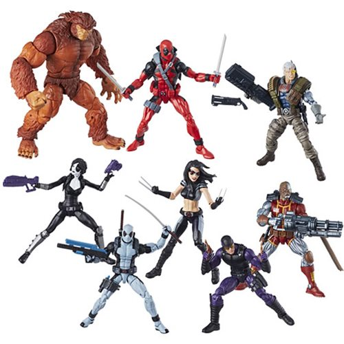 Deadpool Marvel Legends 6-Inch Action Figures Wave 1 Case – Free Shipping