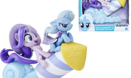 My Little Pony Fan Series Starlight Glimmer and Trixie Lulamoon Action Figure