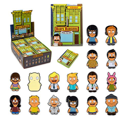 Bob's Burgers Enamel Pin Series Display Tray – Free Shipping
