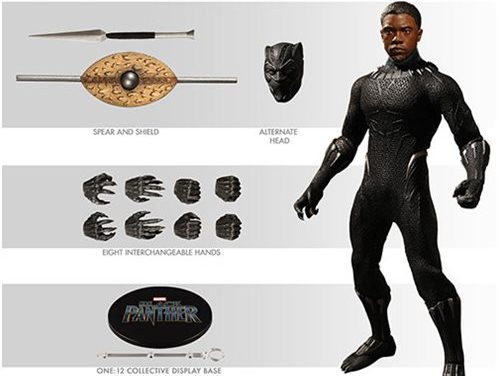 Black Panther One:12 Collective Action Figure – Free Shipping