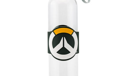 Overwatch Glass Water Bottle