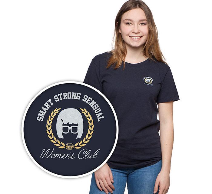 "Bob's Burgers ""Smart, Strong, Sensual Woman"" Ladies' Boyfriend T-Shirt"