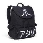 Atari Black Katakana Backpack