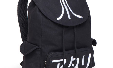 Atari Black Katakana Backpack