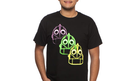 Iron Giant Neon Outline T-Shirt