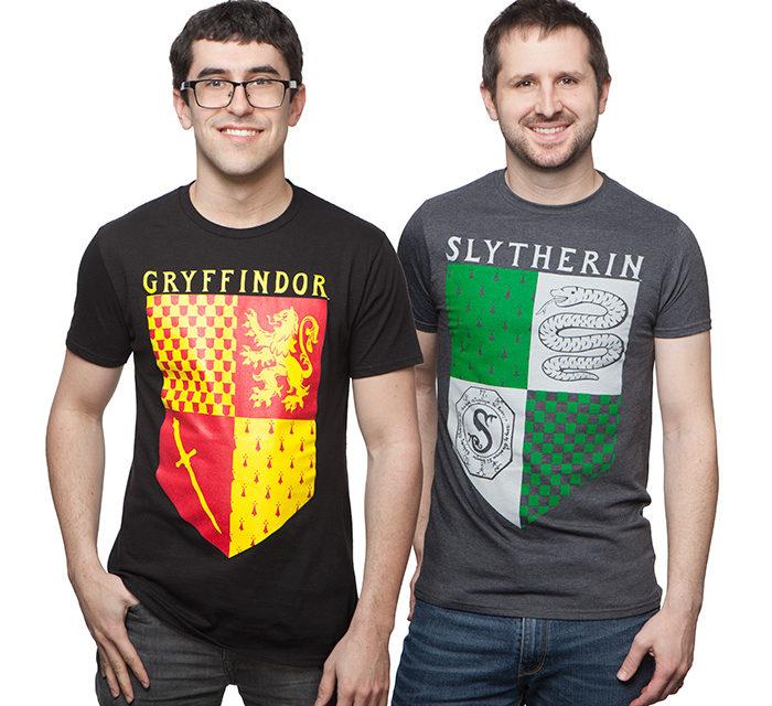 Harry Potter House Banner T-Shirt