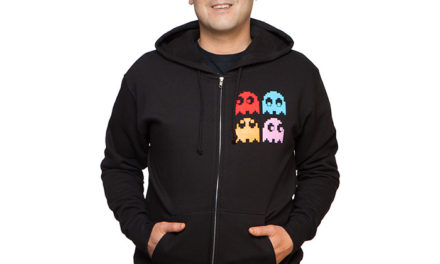 Pac-Man Afraid of No Ghosts Zip-Up Hoodie