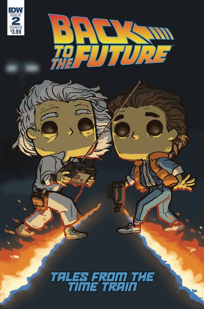 Back to the Future Time Train #2 (Cover B – Funko Wolfe)