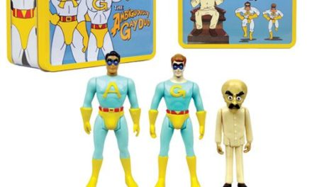 Saturday Night Live The Ambiguously Gay Duo and Bighead 3 3/4-Inch Figures in Tin Tote – Convention Exclusive