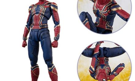 Avengers: Infinity War Iron Spider and Tamashii Stage SH Figuarts Action Figure – Free Shipping
