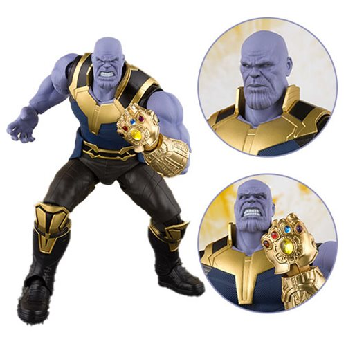 Avengers: Infinity War Thanos SH Figuarts Action Figure – Free Shipping