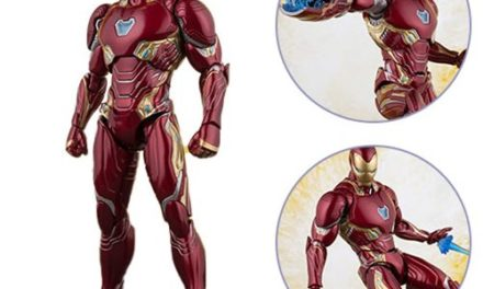 Avengers: Infinity War Iron Man Mk50 and Tamashii Stage SH Figuarts Action Figure – Free Shipping