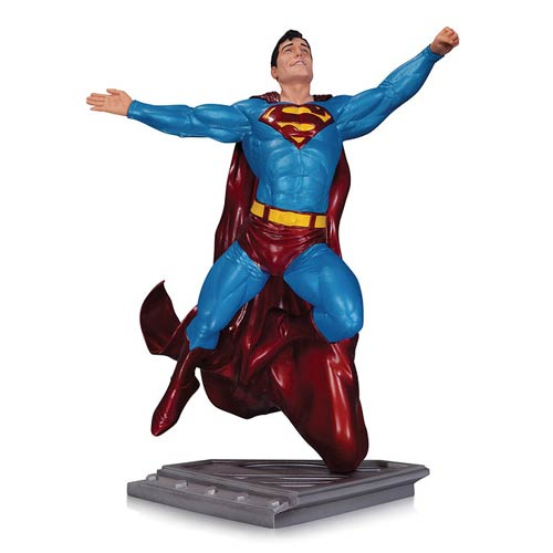 Superman Man of Steel by Gary Frank Statue