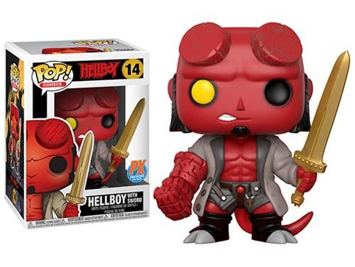 Hellboy with Excalibur Pop! Vinyl Figure – Previews Exclusive
