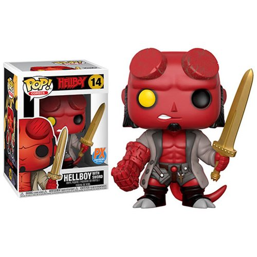 Hellboy with Excalibur Pop! Vinyl Figure – Previews Exclusive