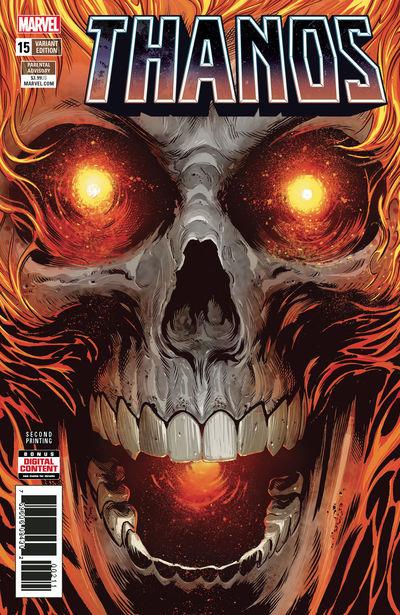 Thanos #15 (2nd Printing)