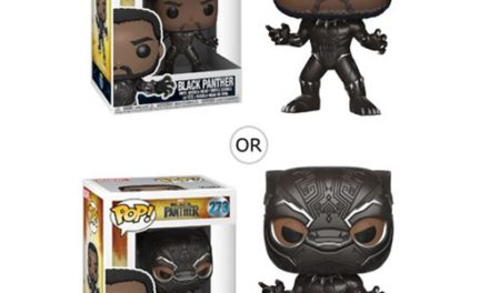 Black Panther Pop! Vinyl Figure #273, Not Mint