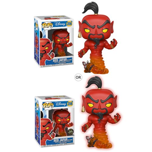 Aladdin Jafar Pop! Vinyl Figure #356, Not Mint