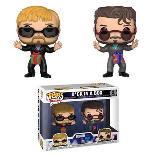 Saturday Night Live Dick in a Box Pop! Vinyl Figure 2-Pack