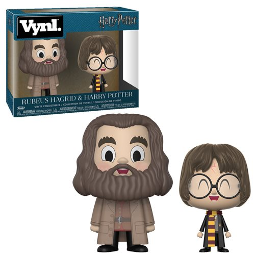 Harry Potter and Hagrid VYNL Figure 2-Pack