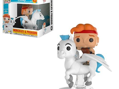 Hercules and Pegasus Pop! Ridez Vinyl Figure