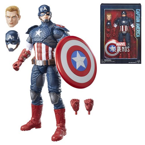 Marvel Legends 12-Inch Captain America Action Figure
