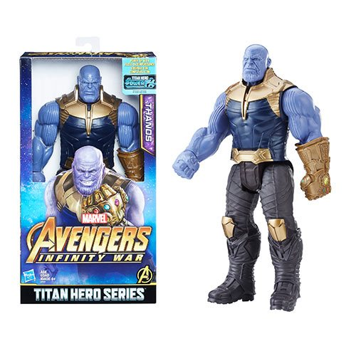 Avengers: Infinity War Titan Hero Series 12-Inch Hulk Action Figure with Titan Hero Power FX Port