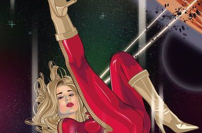 Barbarella #4 (Cover B – Aseo)