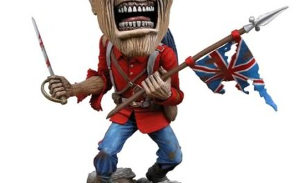 Iron Maiden Eddie The Trooper Head Knocker