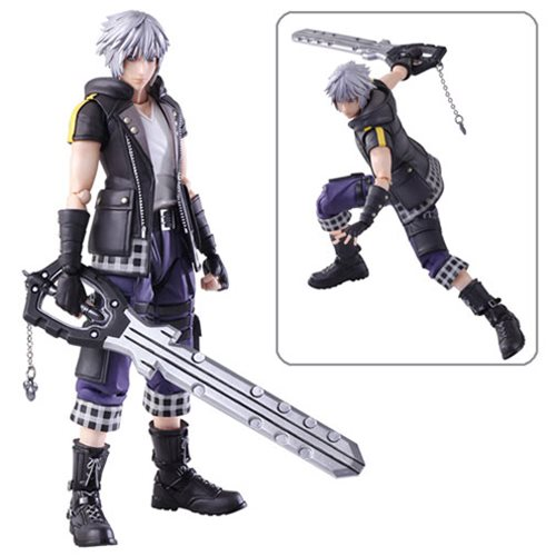 Kingdom Hearts III Bring Arts Riku Action Figure
