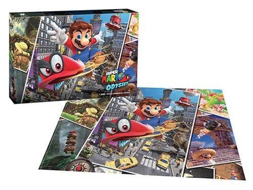Super Mario Odyssey Snapshots 1,000-Piece Premium Puzzle