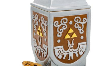 Zelda Triforce Cookie Container