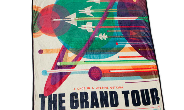 Visions of the Future: Microplush Throw Grand Tour