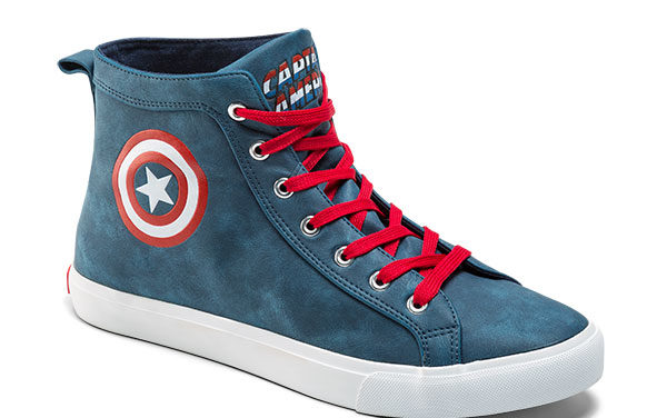 Captain America High Top Sneaker
