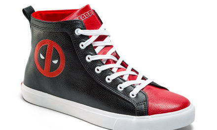 Deadpool High Top Sneaker